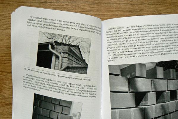 """Zawartość książki """"Usterki w pracach budowlanych i wykończeniowych"""""""