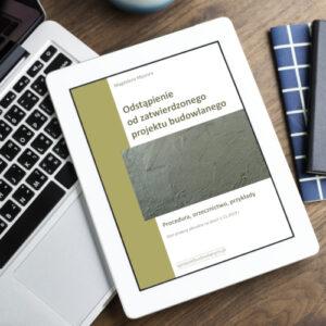 odstępstwo od zatwierdzonego projektu - e-book pdf