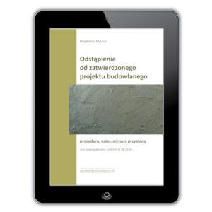 Zmiany w projekcie budowlanym - e-book