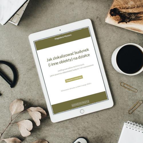 E-book o sytuowaniu budynków na działce